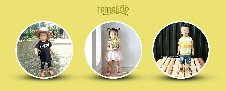 tamagoo sepatu anak perempuan