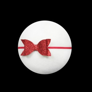 Glitter Red Bow