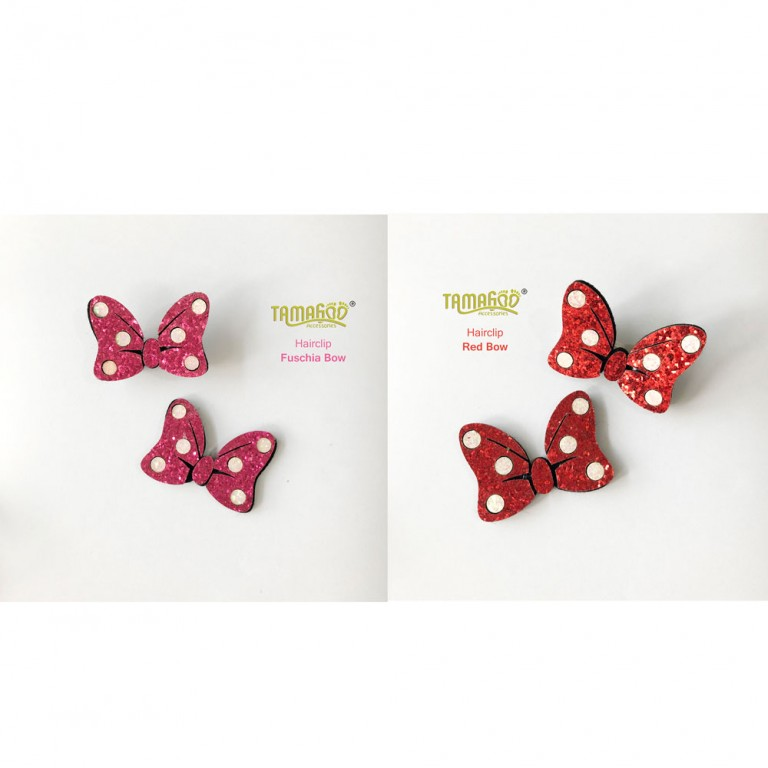 Hairclip - Red Bow