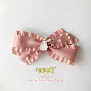 Herper Dusty Pink - Bunny Headband
