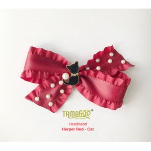Herper Red - Cat Headband