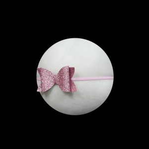 Glitter Pink Bow