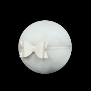 Glitter White Bow