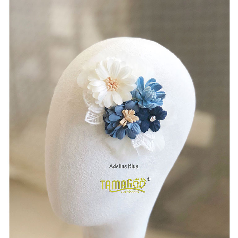 Adeline Blue headband